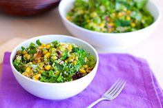 Summertime Quinoa and Greens Salad Recipe Salads with quinoa, water, mixed greens, avocado, broccoli, yellow corn, fresh green peas, dried cherry, chopped walnuts, extra-virgin olive oil, Balsamico Bianco