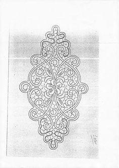 Bobbin Lace Patterns, Crochet Doily Patterns, Embroidery Patterns, Doilies Crochet, Dress Patterns, Russian Crochet, Irish Crochet, Bobbin Lacemaking, Macrame Design
