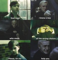 Awww why Draco he could have been nice if the others had been delayed a few more seconds Harry Potter Feels, Harry Potter Draco Malfoy, Hermione Granger, Harry Potter Tumblr, Harry Potter Pictures, Harry Potter Jokes, Harry Potter Universal, Harry Potter Aesthetic, Tom Felton
