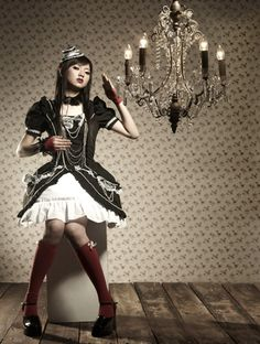 Sweet Gothic Lolita Style