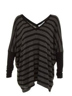 double v neck dolman sweater - super cute