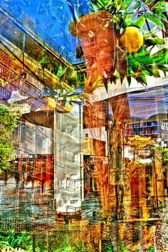 HDR abstract photo
