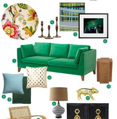ikea stockholm sofa in sandbacka green.
