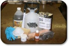 Learn how to stain concrete floors using this step by step guide. A stained concrete floor is beautiful, durable, long lasting, and very easy to maintain. Acid Stained Concrete, Stain Concrete, Painted Concrete Floors, Painting Concrete, Cement Floors, Basement Flooring, Diy Flooring, Basement Remodeling, Epoxy