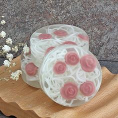 Red Rose Glycerin Soap