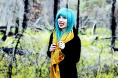 blue hair... if i didn't want a good job (doctor) this would be in my future. hmmmm maybe college?
