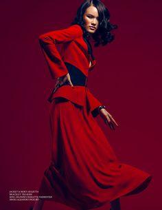 """""""Crimson"""" for Atlas Winter 2013 on Behance"""