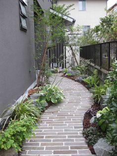 坂 敦司 : 庭造り日記 Path Design, Garden Design, Patio, Backyard, Landscape Solutions, Japanese Style House, Side Yards, Outside Living, Bonsai Garden