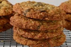 Crispy Oatmeal Cookies Recipe - Joyofbaking.com *Video Recipe*