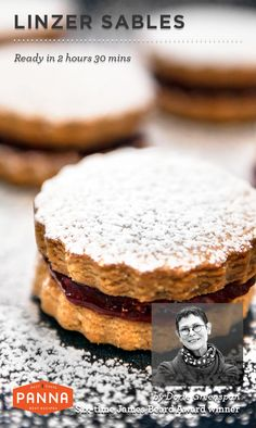 Baking Saturday with Linzer Sables recipe by 6-times James Beard Award winner Dorie Greenspan