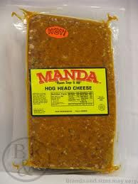 MANDA BRAND HOG HEAD CHEESE ---LOVE IT!!