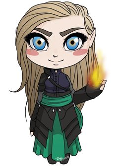 """redandblackassassin: """" sweetfinjadrawings: """" I drew these cuties on Saturday, forgot to post them! All my favorite characters from Throne of Glass as chibi. You can get them on my redbubble as stickers and phone cases since they are very small. Get..."""