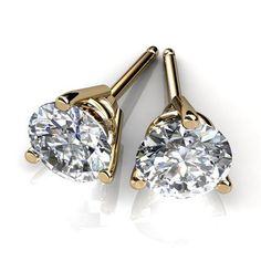 Diamond Stud Earrings For Men And Women In Atlanta Georgia