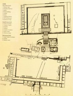 Roman Archaeological Remains on Kos New Modern House, Modern House Plans, House Floor Plans, Ancient Roman Houses, Roman Bath House, Roman Columns, Living In Italy, Mediterranean Style Homes, Architecture Plan