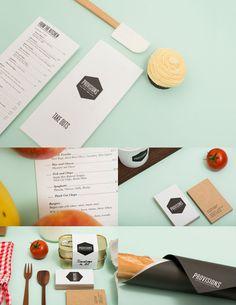 45 Restaurant Identity, Menu & Stationery Designs Showcase - Blog of Francesco Mugnai