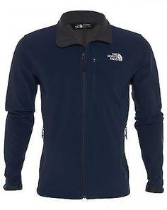 North Face Shellrock Mens CAJ5-A8U Cosmic Blue Apex Full Zip Jacket Size L