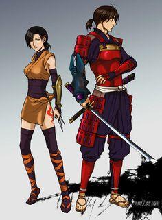 Kaede and Samanosuke