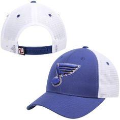 St. Louis Blues Zephyr Basic Trucker Snapback Adjustable Hat – Royal Blue  Snapback 9237c808346