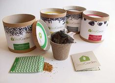 Small Garden packaging