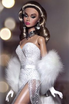 Barbie I, Barbie And Ken, Diva Fashion, Fashion Dolls, Nice Dresses, Formal Dresses, Amazing Dresses, Poppy Parker, Beautiful Barbie Dolls