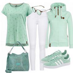 Freizeit Outfits: Mint bei FrauenOutfits.de