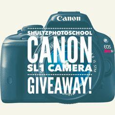 Win a brand new Canon SL1 DSLR from Shultz Photo School