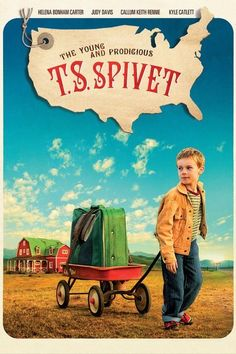 The Young and Prodigious T.S. Spivet Movie Poster/die karte meiner träume