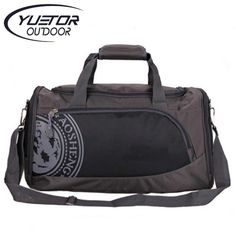 4331a6e24c526 YUETOR 25L Nylon Outdoor Male Yoga Duffel Bag