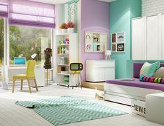 Pokój dziecięcy i młodzieżowy : CLICK Collection Zestaw 2 - Sweet Home and More - Sklep internetowy z meblami  http://sweethomeshop.pl/pokoj-mlodziezowy/click-collection-52-detail