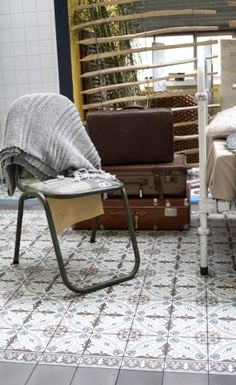 Cement tiles - Designtegels - Showroom Breda