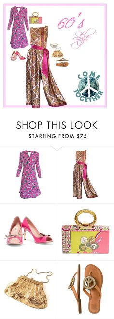 """""""Lucy in the Sky with Diamonds"""" by babygirltrice ❤ liked on Polyvore featuring Adele Simpson, Valentino and Emilio Pucci"""