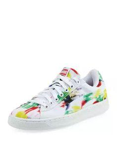 Basket Classic Fabric Sneaker, Multipattern