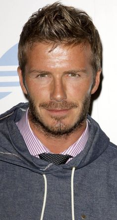David Beckham.  I can never understand what the hell you're saying, but who gives a shit, you're fine.