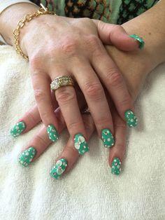 Summer nails art