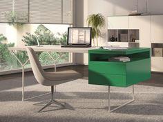 Bureau. Mod. MADRID Bureau Design, Home Office, Office Desk, Madrid, Corner Desk, Furniture, Home Decor, Wood Veneer, Hardwood