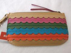 *NEW* Relic~Takeaway Scallop Multi-Color Wristlet Wallet #Relic #Wristlet