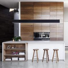 // s p o t t e d // From the camera roll. Snapped from @theagephoto #domain a few weeks back #timber #kitchen #interior #design