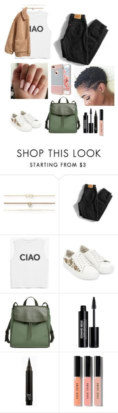 """""""Untitled #706"""" by qwert123456 ❤ liked on Polyvore featuring Aéropostale, Levi's, H&M, Monsoon, Skagen, Edward Bess and Bobbi Brown Cosmetics"""