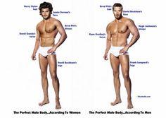 Das Gesicht von Jamie Dornan oder doch lieber das von David Beckham? Darauf antworten Frauen und Männer unterschiedlich.