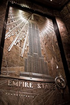 NYC. Empire State Building | Obliot Flickr:***Research for possible future project.