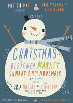 Shop 'til you drop at the Christmas Designer Market 29 November London Free entry