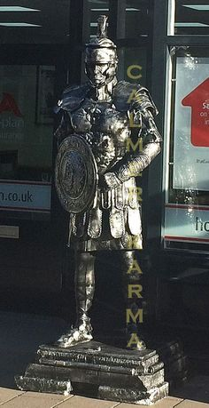 Living Statues and body painted performers for corporate entertainment; London and UK London Birmingham, Living Statue, Corporate Entertainment, Roman Soldiers, Hold My Hand, Wow Products, Body Painting, Brighton, Statues
