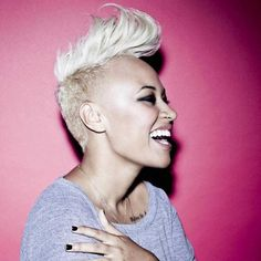 Mohawk hairstyle for women :: one1lady.com :: #hair #hairs #hairstyle #hairstyles