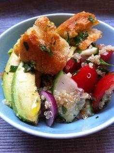 Quinoa-Brotsalat