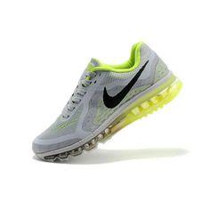 Nike Air Max  2014 Gri Yeşil Erkek Ayakkabı