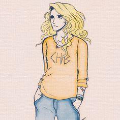 Annabeth being Annabeth Percy Jackson Fanart Annabeth Percy Jackson, Percy Jackson Movie, Percy Jackson Characters, Percy Jackson Fan Art, Percy Jackson Fandom, Percy Jackson Drawings, Uncle Rick, Percabeth, Half Blood
