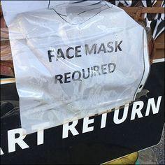 Cart-Return Face Mask Reminder