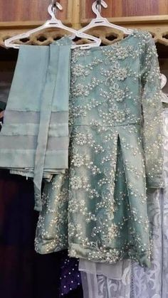 48 Ideas Bridal Dresses Pakistani Nikkah - MY World Pakistani Fashion Casual, Pakistani Dresses Casual, Pakistani Dress Design, Indian Dresses, Indian Outfits, Casual Dresses, Fashion Dresses, Fashion Clothes, Pakistani Party Wear