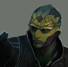 Thane Krios by FonteArt on DeviantArt