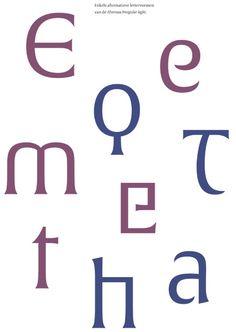 Gerard Unger - Al mijn type design
